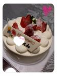 息子くんのお誕生日ケーキ。