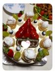お誕生日ケーキ@義実家。