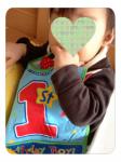 息子くん1歳。