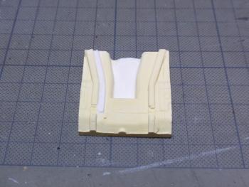 シャーシ石膏模型