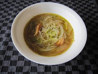 玉ネギおばさんのルソン島スープ