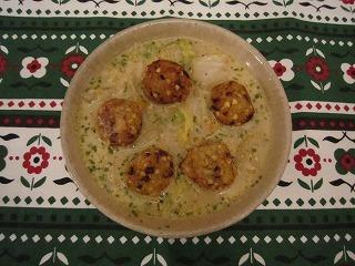 白菜スープwith揚げボール