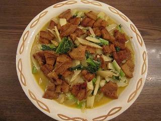 バロン炒め(インドネシア風野菜炒め