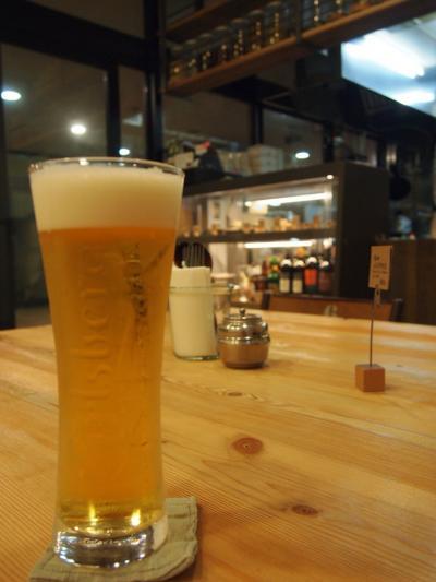 ビール(大岩食堂)