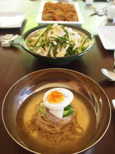 韓国料理教室(2014年10月7日)