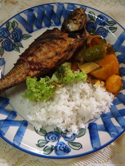 魚カレー(ペナン)