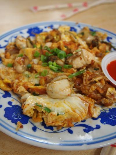 牡蠣の卵炒め(ペナン)