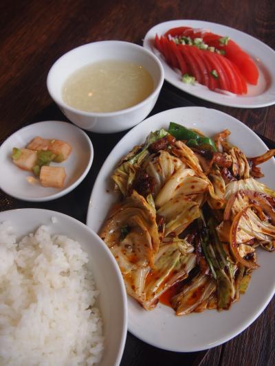 回鍋肉ランチ(ワンズーチ―)