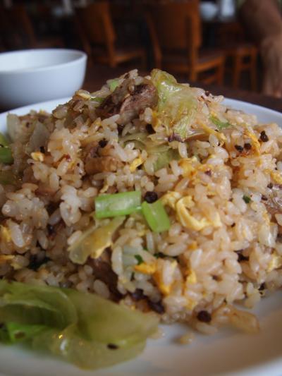 豚バラ炒飯(ワンズーチ―)