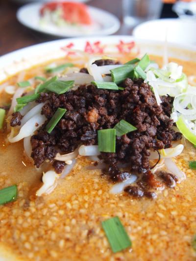 海老味噌担担麺(ワンズーチ―)