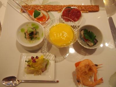 前菜(リストランテ濱崎) (2)