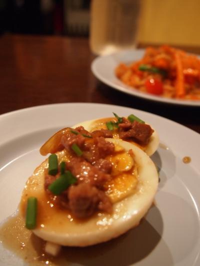 揚げ卵タマリンドソース(パッポンキッチン)