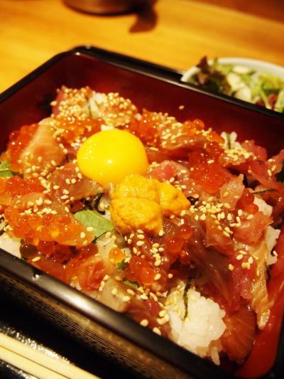 海鮮卵丼(やなぎ)