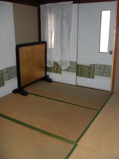 1階の和室(6畳)
