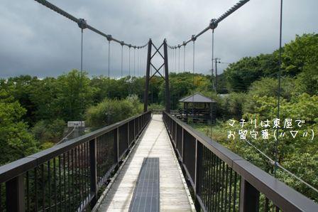 つつじ吊橋②