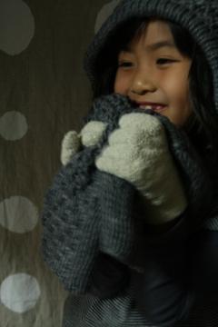 マフラーと手袋1