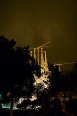夜サグラダファミリア9