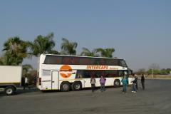 ナミビアへの移動1