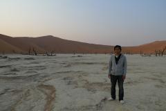 ソススフレイのナミブ砂漠5