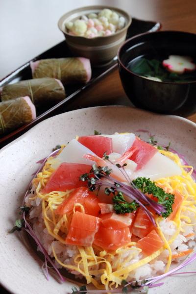 ひな祭り_ちらし寿司