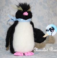 クールペンギンうちわ