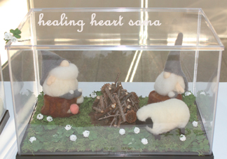 「春待ち小人~四つ葉のクローバーを探して♪」healing heart様