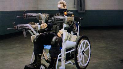車椅子戦車