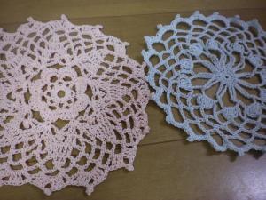 母 手編み