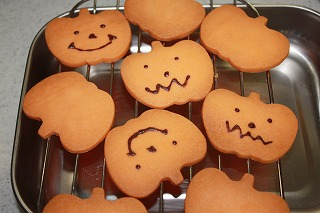 ハロウインクッキー