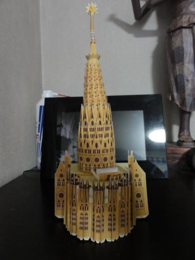 サグラダファミリア 聖母マリアの塔2