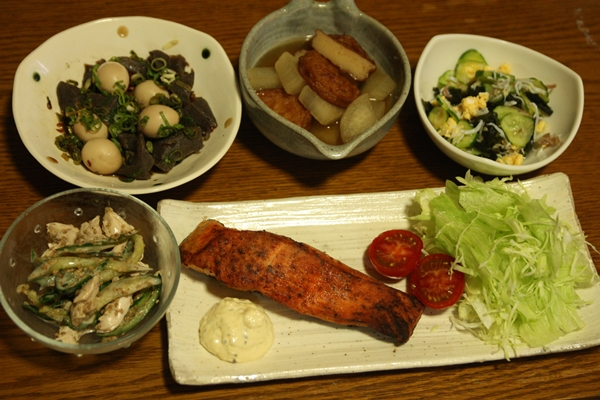 120801 晩ご飯