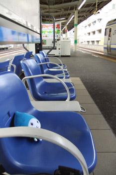 エアポート成田行きを待つ