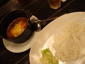 鉄鍋カレー