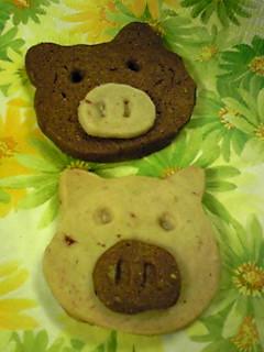 クッキーぶたさん