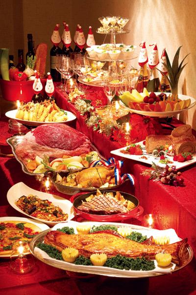 豪華なディナー