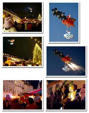 世界中で 空飛ぶ サンタクロース