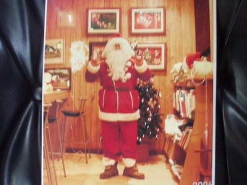 家の中 の サンタさん