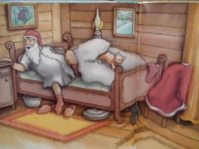 寝坊した サンタさん