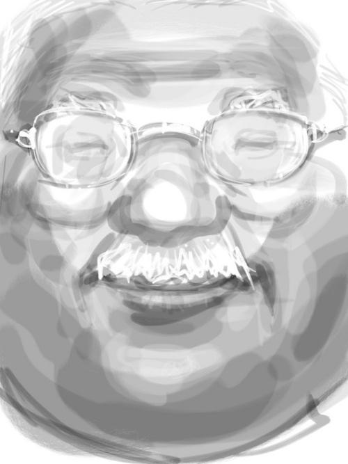 ニッコリ笑顔 安西先生