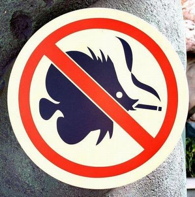 禁煙 熱帯魚