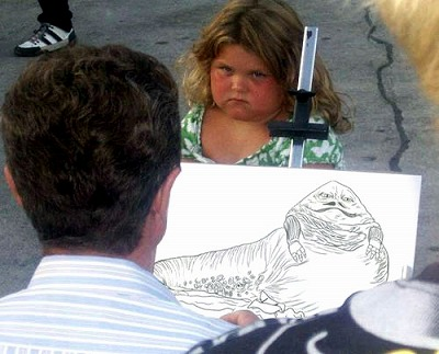 似顔絵画家