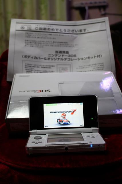 当選した・・・3DS