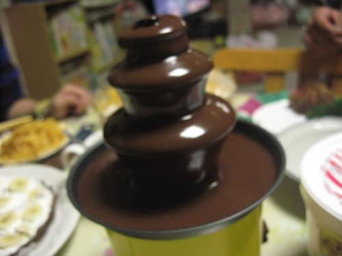 チョコフォンディユマシーン