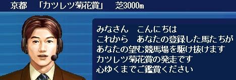 カツレツ菊花賞