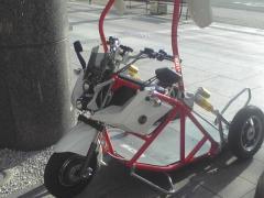 車いすバイク