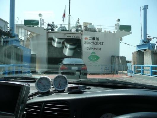 4月4日乗船