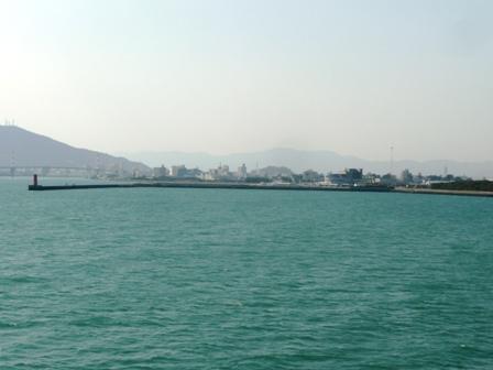 4月4日 徳島港