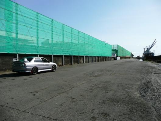 4月21日 工業埠頭
