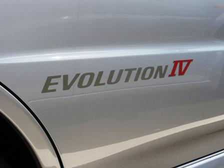 エボリューションⅣ ステッカー