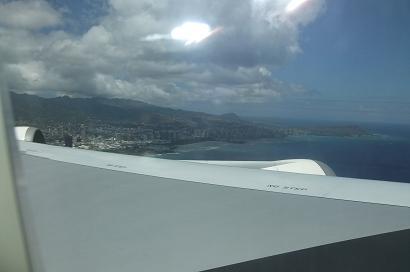 2010年6月ハワイ 離陸